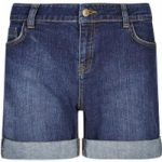 Weird Fish Kitt Stretch Denim Short Denim Size 8
