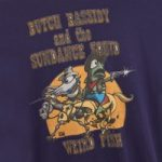 Weird Fish Butch Bassidy Artist T-Shirt Rich Navy Size XL