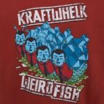 Weird Fish Kraftwhelk Artist T-Shirt Paprika Size 4XL