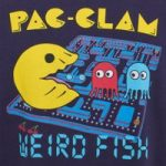 Weird Fish Pac-Clam Artist T-Shirt Rich Navy Size S