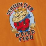 Weird Fish Desperate Clam Artist T-Shirt Saffron Size 2XL