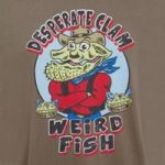 Weird Fish Desperate Clam Artist T-Shirt Mushroom Size 2XL