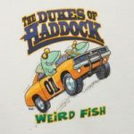 Weird Fish Dukes Of Haddock Artist T-Shirt Ecru Size 2XL
