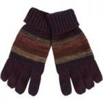Weird Fish Red Mountain Gloves Mulled Wine Size ONE