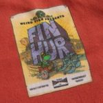 Weird Fish Fin Hur Artist T-Shirt Cranberry Size XL