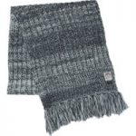 Weird Fish Firth Cable Knit Scarf Midnight Size ONE