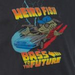 Weird Fish Bass To The Future Artist T-Shirt Charcoal Size 9-10