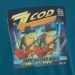 Weird Fish Zz Cod Artist T-Shirt Blue Mallard Size M