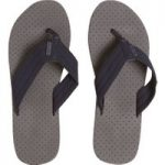 Weird Fish Trent Textured Football Flip Flop Dark Navy Size 10