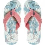 Weird Fish Salcombe Printed Flip Flop Blue Surf Size 7