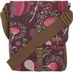 Weird Fish Samla Classic Patterned Canvas Cross Body Bag Lavender Size ONE