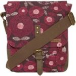 Weird Fish Samla Classic Patterned Canvas Cross Body Bag Boysenberry Size ONE