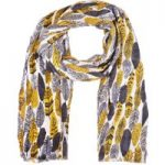 Weird Fish Alverton All Over Print Soft Handle Scarf Pebble Size ONE