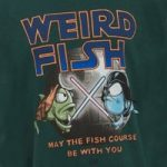 Weird Fish Fish Course Artist T-Shirt Evergreen Size 13-14